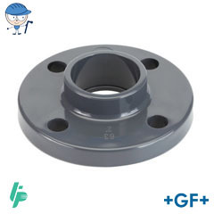 Fixed flange PVC-U