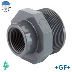 Threaded reducer PVC-U