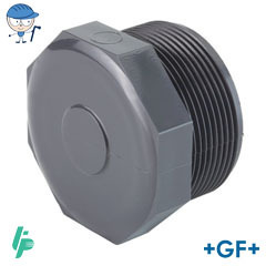 Threaded plug PVC-U