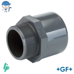 Threaded adaptor R PVC-U