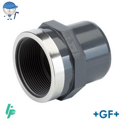 Threaded adaptor Rp PVC-U