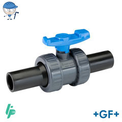 Ball valve with spigots PE100 SDR11 PVC-U