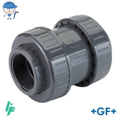 Air release/foot valve With threaded sockets Rp PVC-U