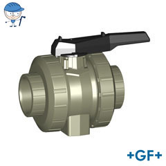 Ball valve type 546 PP-H