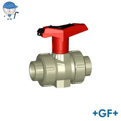 Ball valve type 546 With lockable handle PP-H
