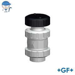 Ventilating and bleed valve Type 591 PVC-C