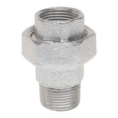 Union conical galvanized FI x FE