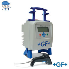 Electrofusion Unit with full traceability and GPS functions  MSA 4.0