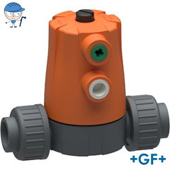 Diaphragm valve Type 604