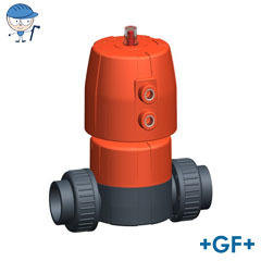 Diaphragm valve DIASTAR 10 PVC-U FC (Fail safe to close)