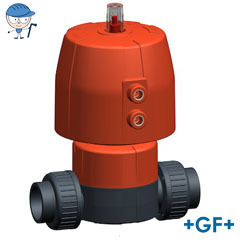 Diaphragm valve DIASTAR 10 Plus PVC-U FC (Fail safe to close)